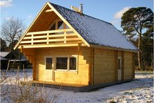 Interflex Chalet Fjord 5,20x7,80m 94mm